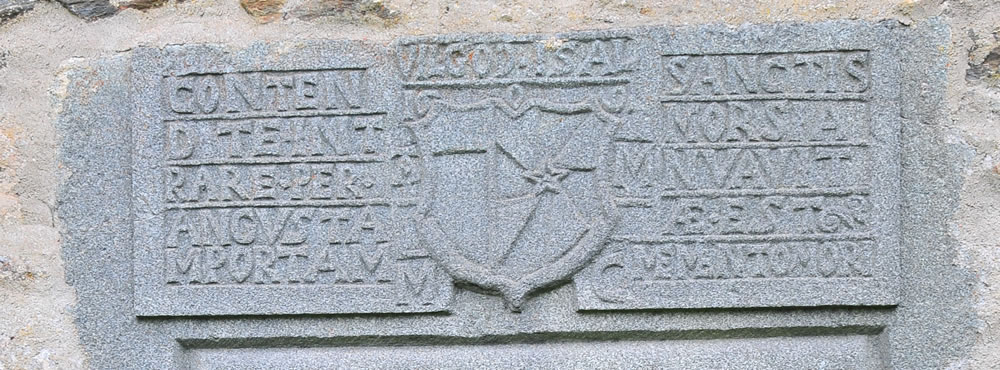 Lintel inscription - the Old Kirk of Weem
