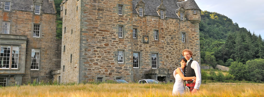 A Castle Menzies wedding