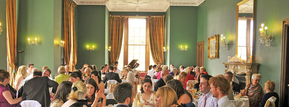 A Castle Menzies wedding - Meal in the Dewar Room